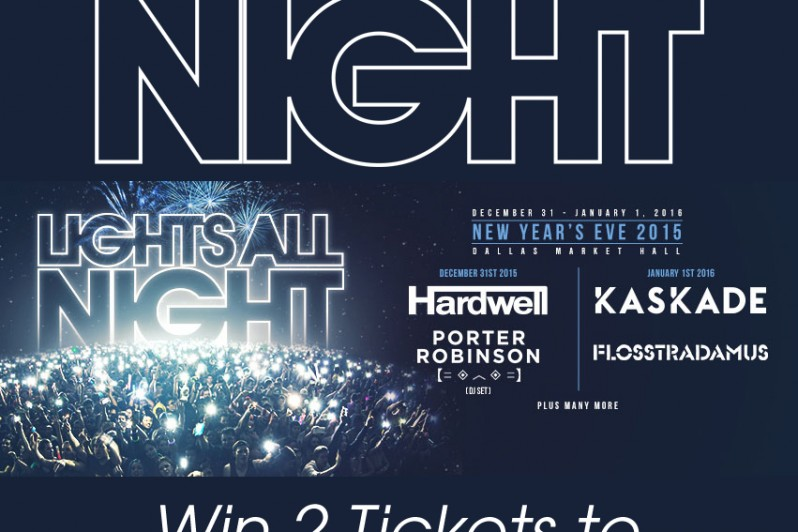 Lights All Night Giveaway 2015 Dallas LAN Tickets