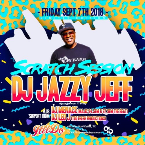 DJ Jazzy Jeff It'll Do Club Dallas TX